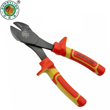 BERRYLION 7''/175mm Insulated Big Head Pliers 1000V Multitools For Cutting Stripping Wire Crimping Pliers Electrician Hand Tools