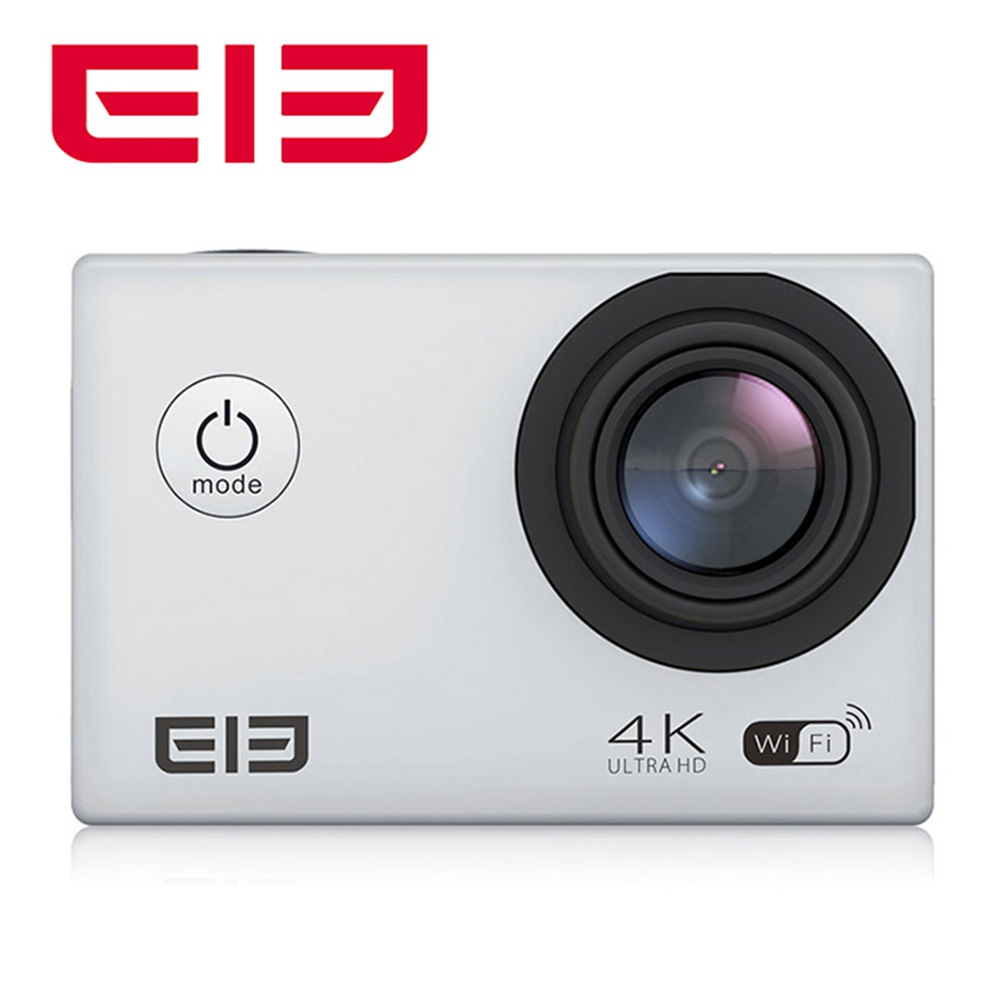 Original Elephone ELE Explorer 2 inches 4K Ultra HD 170 Degree Wide View Angle WiFi Action Camera with Alwinner V3 Chipset 2017 original eken h9r sports action camera 4k ultra hd 2 4g remote wifi 170 degree wide angle