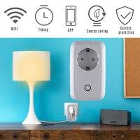 Mindkoo Smart Home Outlet Timer Plug EU US UK Wifi Power Socket Plug Outlet Smart Home