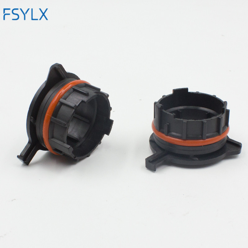 FSYLX 50X LED H7 Car H7 LED Headlight Bulb adapter holder connector Retainer For <font><b>Mercedes</b></font> <font><b>Benz</b></font> <font><b>SLK</b></font> <font><b>SLK200</b></font> SLK280 SLK300 SLK350 image