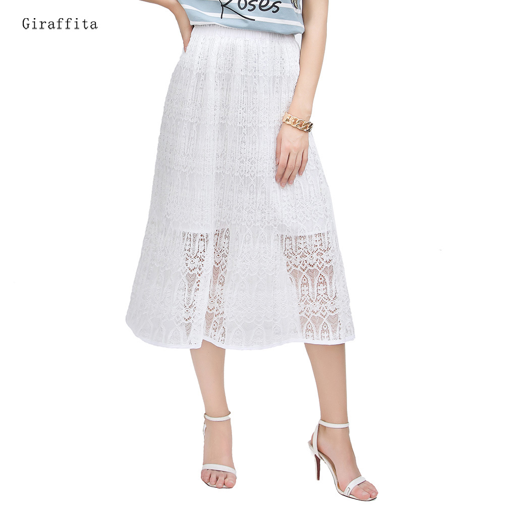 100 white long lace skirt isabel marant floral lace maxi