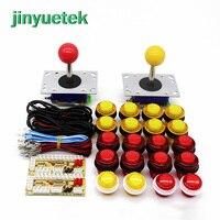 Arcade USB Encoder ZIPPY joystick 28mm led Push Button DIY Arcade Game kit JAMMA MAME PC / PS4 / mobile phone / with lamp