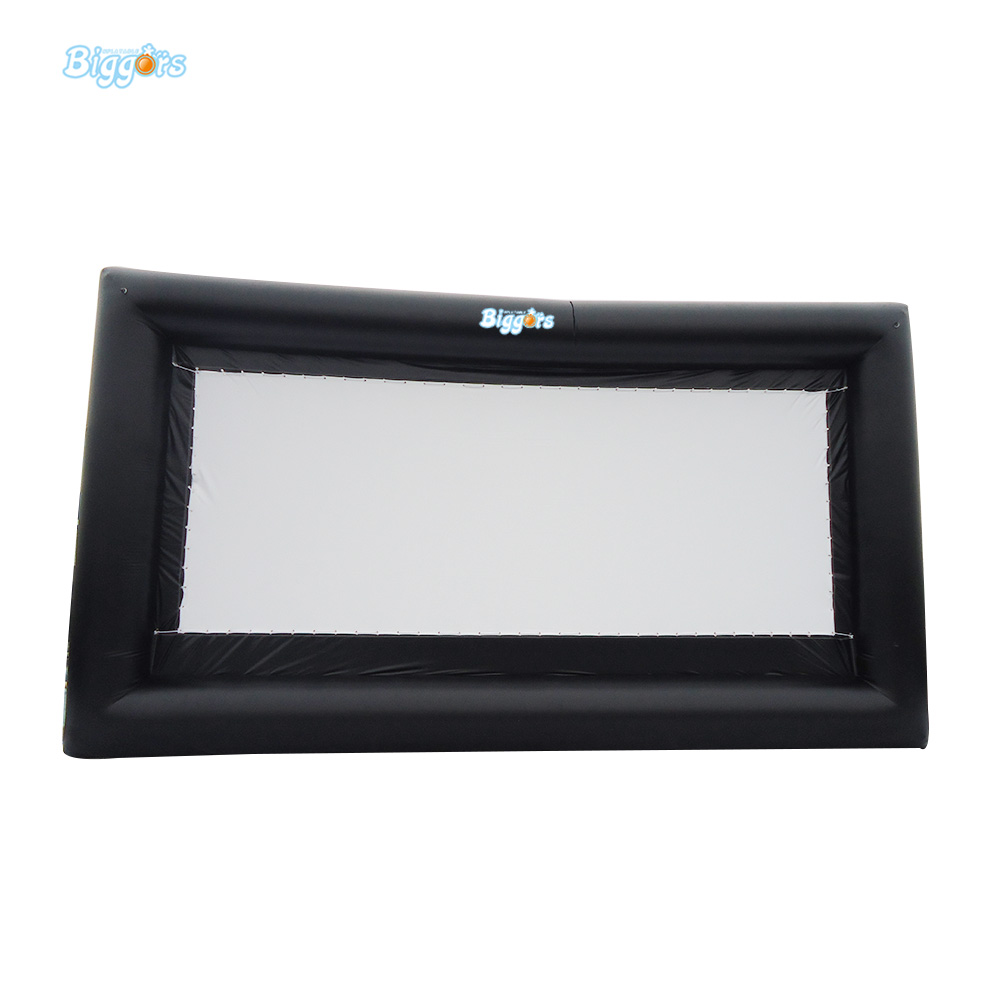 Free Shipping Outdoor Airtight Inflatable Movie Screen Backyard Inflatable Air Screen