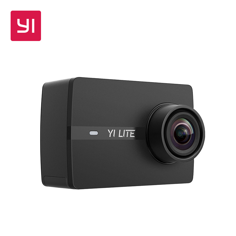 YI Lite Action Camera With Waterproof Case 16MP Real 4K Sports Camera WIFI 2 Inch LCD Screen 150 Degree Wide Angle Lens new original thieye t5e wifi 4k action sports camera ambarella a12ls75 2 0 tft lcd screen 170 degree wide angle sports camera