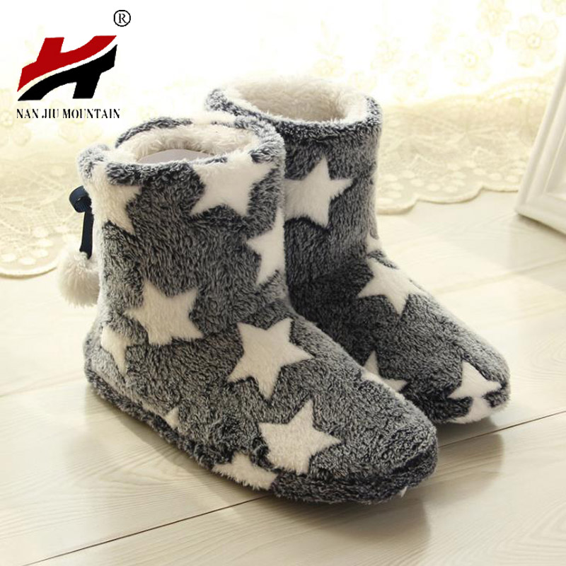 2017 New Women Plush Home Shoes Slippers Coral Fleece Indoor Floor Sock Indoor Slipper Winter Foot Warmer Soft bottom slippers warm at home women slippers cotton shoes plush female floor shoes candy color soft bottom fleece indoor shoes woman home slippe