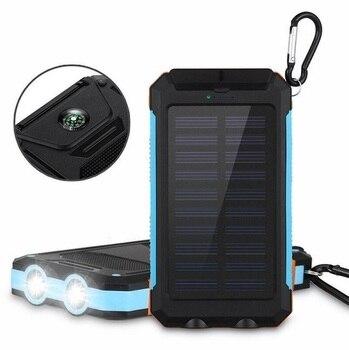 Solar Waterproof Power Bank 20000 mAh 5