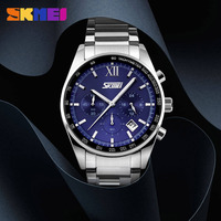 Luxury Brand SKMEI 9096 Chronograph 6 Function Hand Military Men Watch Full Steel Quartz Watches Brandreloj