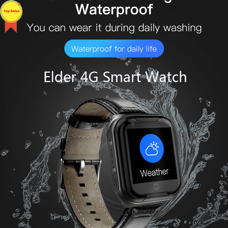 4G smart watch GPS beidou LBS WIFI AGPS position heart rate monitor IP 67 waterproof remote video chat smart phone wristwatch in Smart Watches from Consumer Electronics