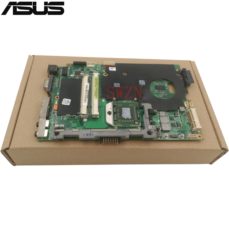original Used Laptop motherboard For ASUS K40AB K40AD K40AF k40jj k40in Mainboard DDR2 Mainboard Full Tested K40AB Main Board pt50638x original main juc7 820 00052414 pm50h2111 used disassemble