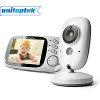 3 2 Inch 2 4GHz Wireless Video Color Baby Monitor High Resolution Night Vision Baby Nanny
