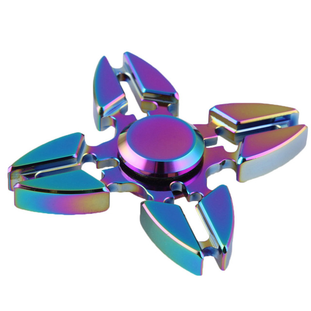 Fidget Spinner Quadruple