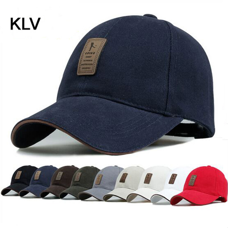 цены New 2017 Brand Baseball Cap Man Bone Baseball Hat For Man Baseball-cap Chapeu Simple and Stylish Pure Color Outdoor Gorras Men