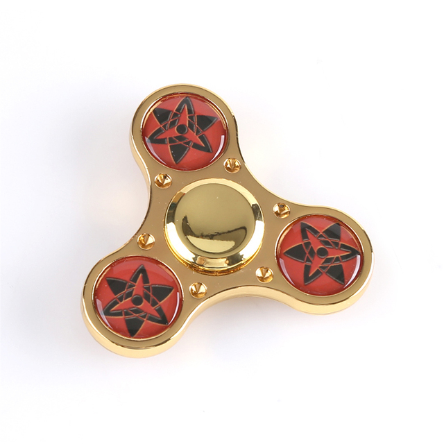 Naruto Sharingan Decompression Toys Hand Spinner