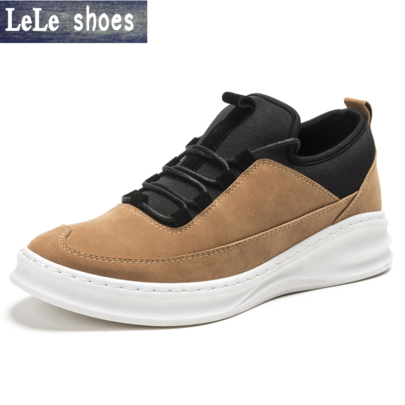 2016 New Spring and Summer Men's Casual Shoes Flat Shoes Chaussure Korean Breathable  Men Shoes Zapatos Hombre Platform Shoes цены онлайн