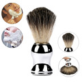 High Quality Luxury 100% Pure Badger Hair Shaving Brush Alloy Handle Best Shave Barber J1701