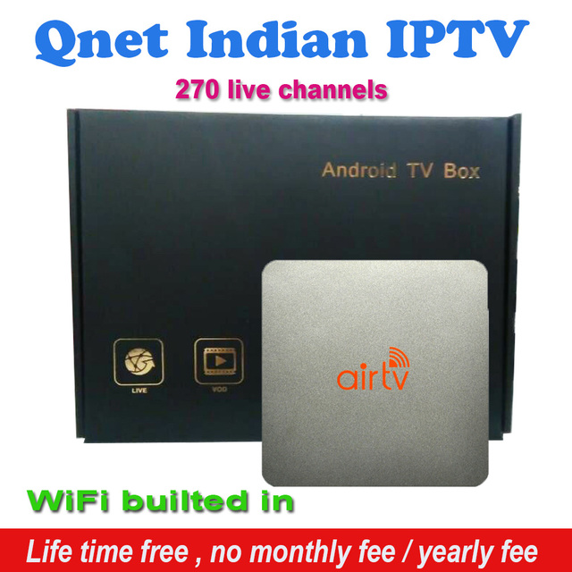 US $212 45 |Free lfietime Indian IPTV boxes support 270+ Star Plus, Zee TV,  Colors, Soni TV, Sun TV, Maa TV, Zee Marathi Indian channels-in Set-top