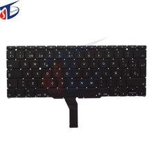 5Pcs/Lot Original Spanish Keyboard For Macbook Air 11″ A1370 A1465 MC505 MC506 MC968 MC969 SP Keyboard without backlight backlit