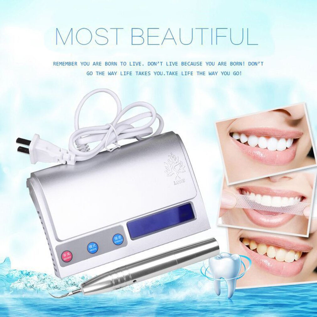 Portable Size Intelligent Waterfree Ultrasonic Oral Irrigator Teeth Cleaning Machine Household Dental Equipment For Tooth Care pro teeth whitening oral irrigator electric teeth cleaning machine irrigador dental water flosser teeth care tools m2