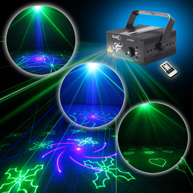 suny laser light gb 40 patterns z40gb blue led stage dj home party show karaoke club - Blue Christmas Karaoke