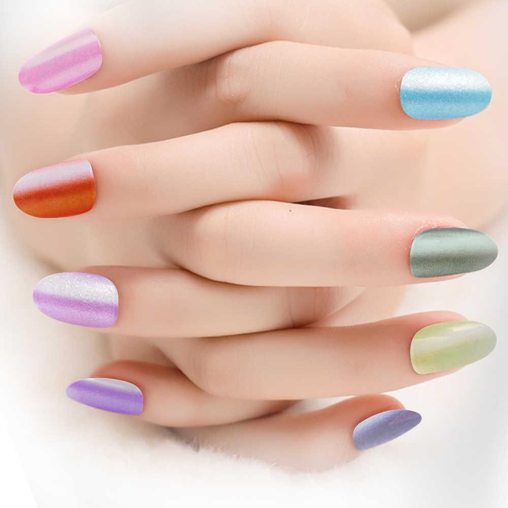 2 グラムマジックネイルグリッタークローム顔料粉末シェル眩しい DIY サロンダスト粉末レーザー爪の装飾マニキュアセット