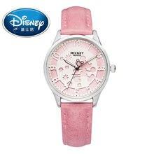 Фотография 2017 Disney Kids Watch Fashion Cool Cute Quartz Wristwatches Girls Waterproof Mickey Mouse For Children