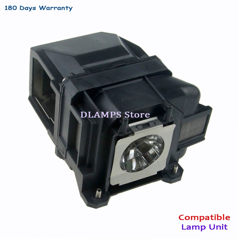 Replacement lamp with housing ELPLP74  V13H010L74  For EPSON PowerLite 1930 EB-1930 EB-1935 EMP-54 EMP-74 Projectors elplp74 for eb 1930 powerlite 1930 powerlite 1935 compatible lamp with housing free shipping