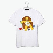 Happy Fat Homer T Shirt