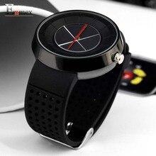 2017 hommes de cadeau Enmex hommes femmes creative croix conception montre-bracelet respirer librement sangle sport mode casual montres à quartz