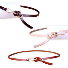 Fashion Women Belt New Style Leather for Lady Dress-in Candy Colors Female Clothing Accessories