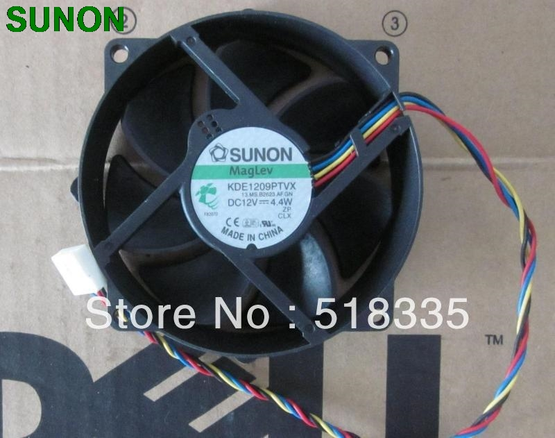 80mm x 25mm PWM Round Cooler Cooling Fan 12V 0.70A 4Wire 4Pin Connector cooler original For AVC DA09025T12U 9025 90mm