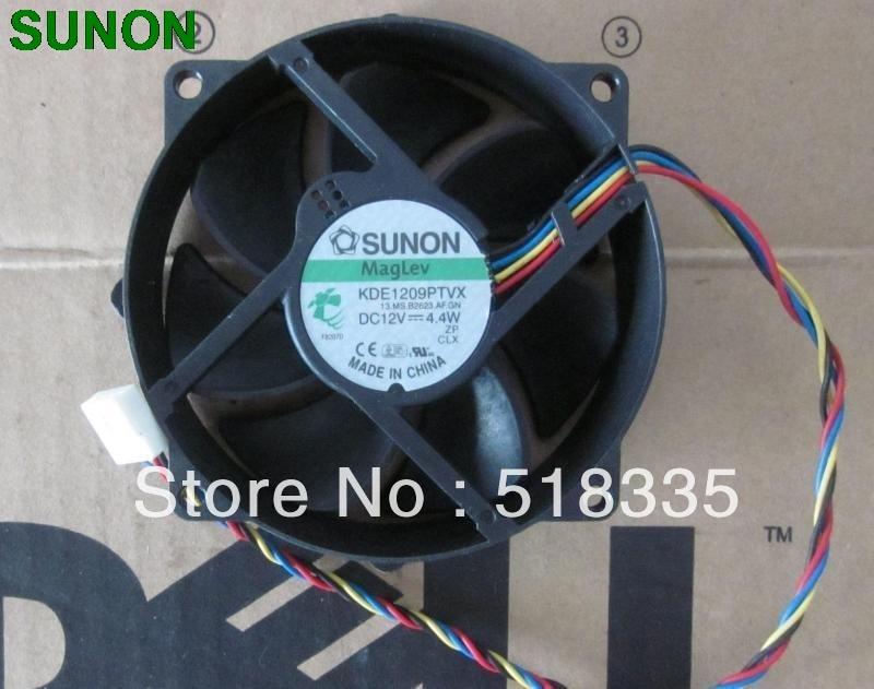 где купить SUNON 9CM 8CM 8025  9225 90/80mm x 25mm KDE1209PTVX Maglev Cooler Cooling Fan 12V 4.4W по лучшей цене