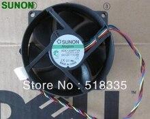 สำหรับ Sunon 9 ซม.8 ซม.8025 9225 90/80 มม.x 25 มม.KDE1209PTVX Maglev Cooler Cooling พัดลม 12V 4.4W