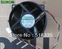 Sunon 9 センチメートル 8 センチメートル 8025 9225 90/80 ミリメートル x 25 ミリメートル KDE1209PTVX リニアモーターカークーラー冷却ファン 12 v 4.4 ワット