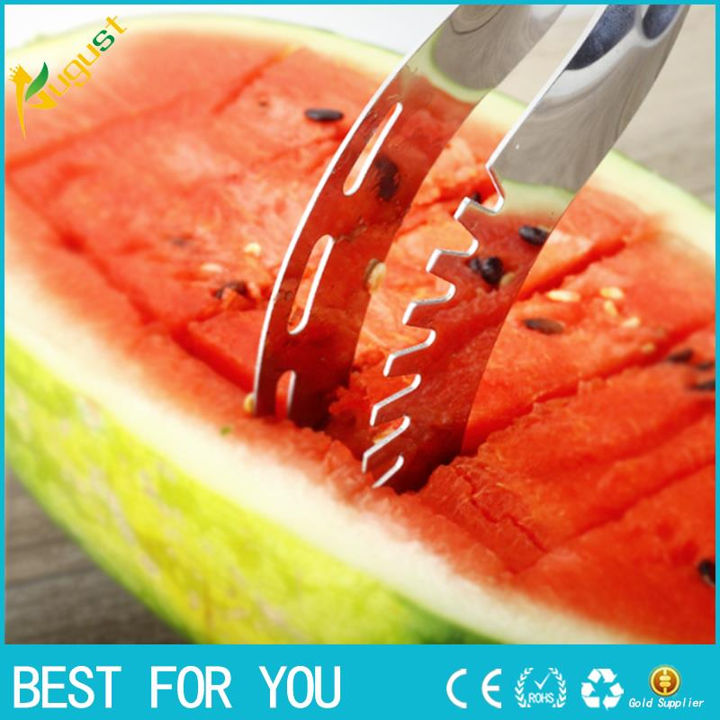 1pc Stainless Steel Watermelon Cutter Slicer Knife Corer Kitchen Tool Accessories Cutting Fruit Vegetable Tools fruit knife