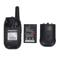 הדרך רדיו Baofeng BF-T6 Kids מכשיר הקשר מיני נייד comunicador משדר רדיו שני הדרך רדיו 0.5W FRS PMR כף יד Interphone Ham (5)