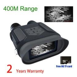 Binoculares NV400B 7X31 para caza Digital, visión nocturna, 2,0 LCD, visión diurna y nocturna militar, gafas telescópicas para caza