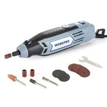 цена на WORKPRO 130W Mini Drill Rotary Tool With Grinding Power Tool Accessories Multifunction Mini Engraving For Dremel