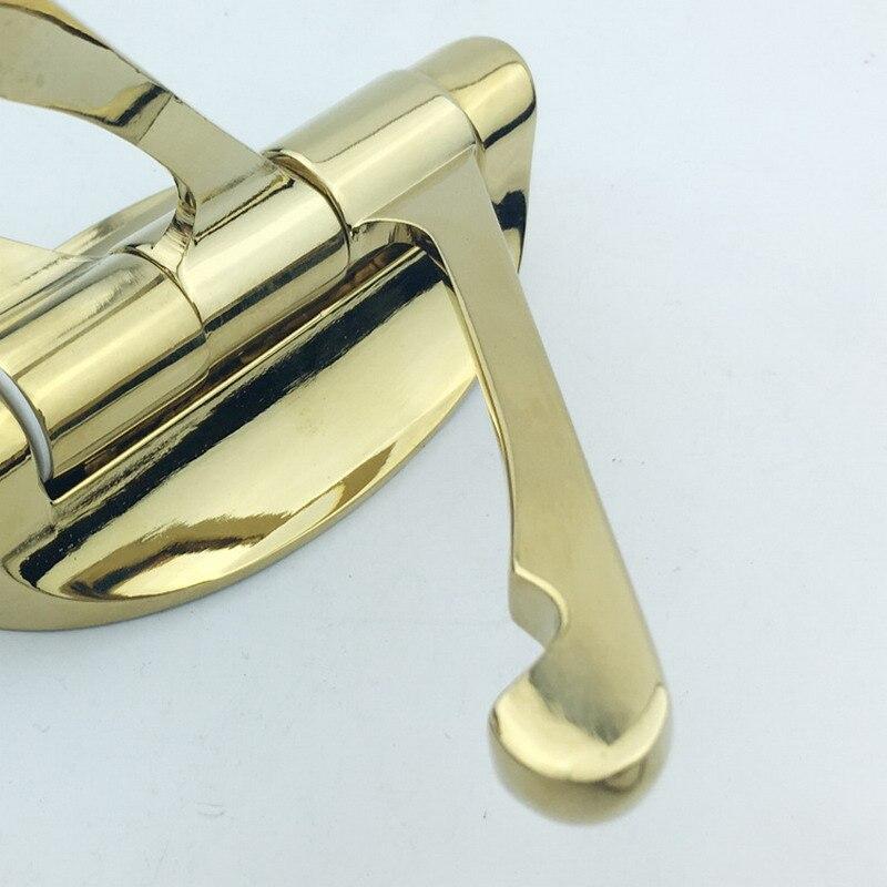 1 Piece Solid Metal Swivel Hook Heavy Duty Folding Swing Arm Triple Coat Hook with Multi Three Foldable Arms Towel Hanger T0.2