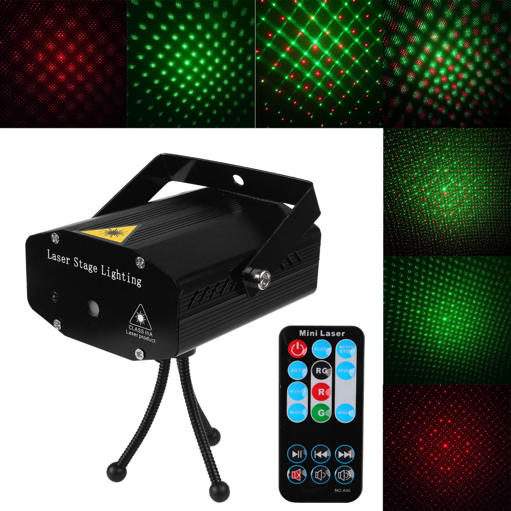 mini led laser projector christmas decorations laser disco light laser light dj voice activated dj disco xmas party club light in stage lighting