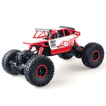 2 4G Off Road Vehicles Four Wheel Drive Big Feet Climbing Car Remote Control Car Rechargeable