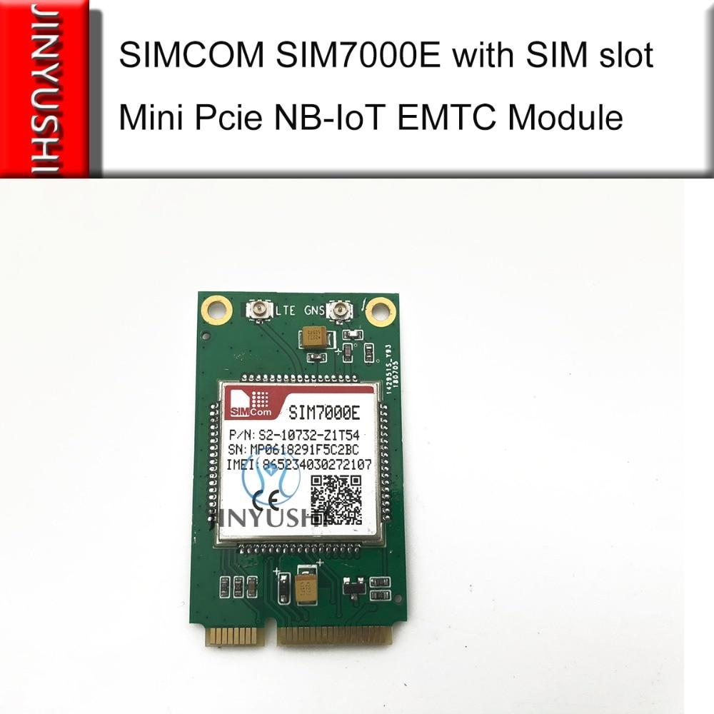 JINYUSHI For SIMCOM SIM7000E With SIM Slot Mini Pcie B3/B8/B20 LTE CATM1 EMTC NB-IoT Module  Compatible With SIM900 And SIM800F