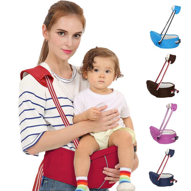 Baby Carrier Backpack Hipseats Waist-Straps Infant Kids Suspenders Multifunctional