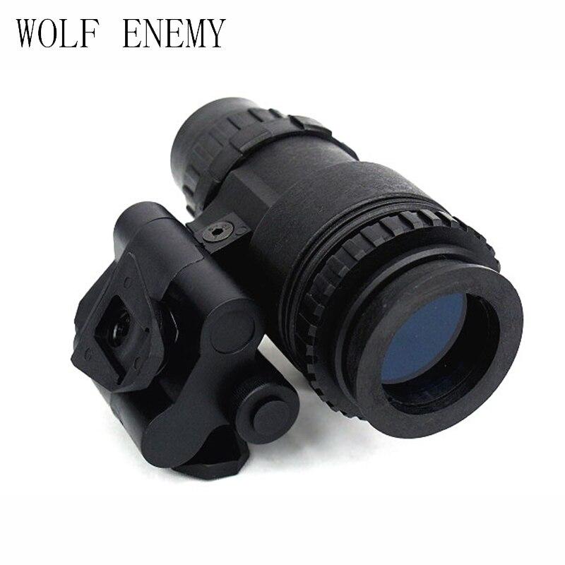 Tactique Dummy AN PVS-18 NVG Lunettes De Vision Nocturne Noir