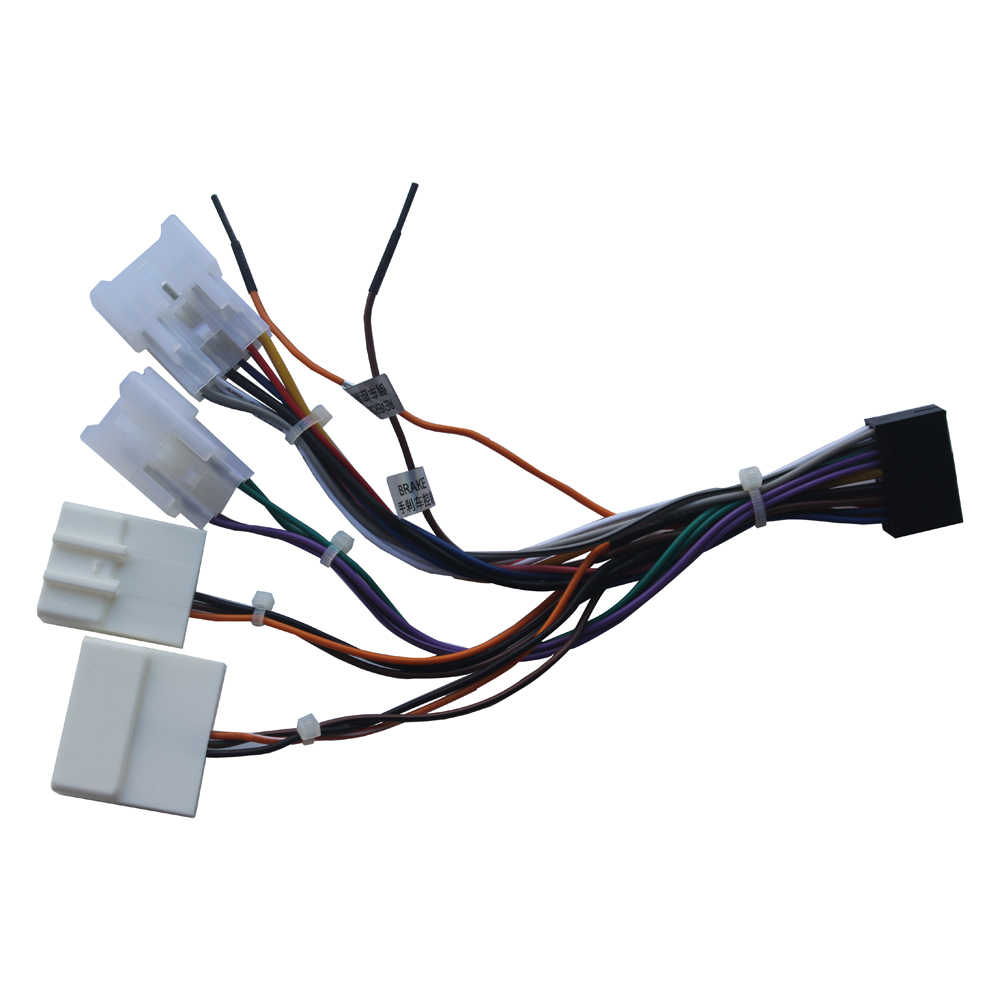 small resolution of stereo wiring harness adaptor power cable iso radio plug for toyota wiring harness wire cable connector