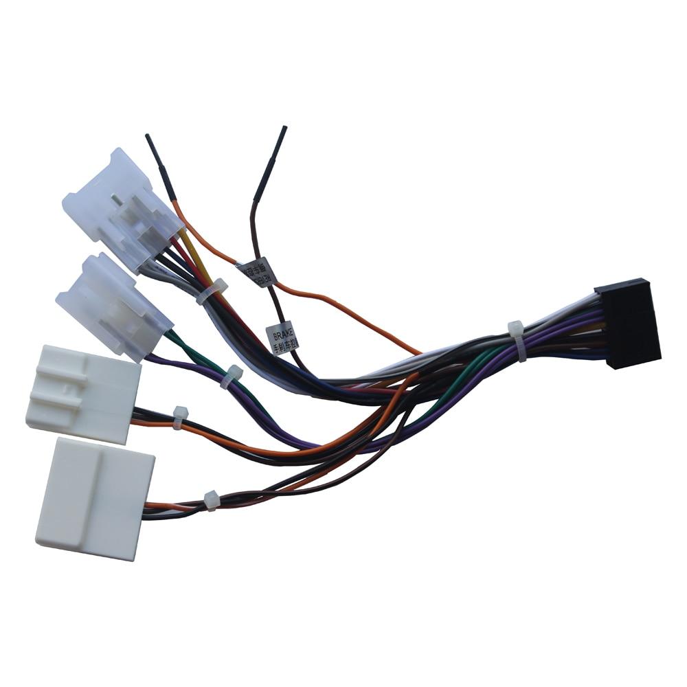 Stereo Kabelbaum Adapter Stromkabel ISO Radio-stecker für Toyota ...