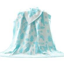 High Quality Baby Knitted Blanket Cotton Jacquard Weave Knitting Cartoon Blankets Newborn Boys/girls Gift Bedding