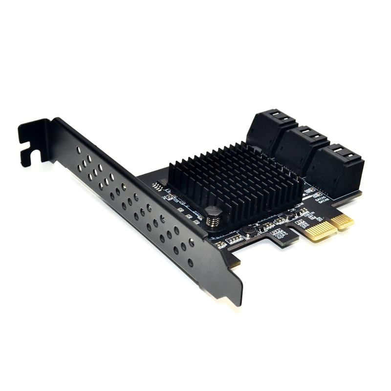 Marvell 88SE9215 Chip PCI Express SATA 3 PCIE SATA PCI-E PCI E SATA Card/Expansion/Controller/HUB/Multiplier Port SATA 3.0 SATA3