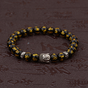 Bracelet Bouddhiste Or