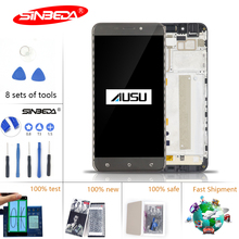 5.5Original IPS LCD For ASUS Zenfone 3 Max ZC553KL LCD Display Touch Screen with Frame Digitizer Assembly LCD For Asus ZC553KL 5158n fpc 1 lcd touch screen digitizer assembly with frame for asus pad tf300tg