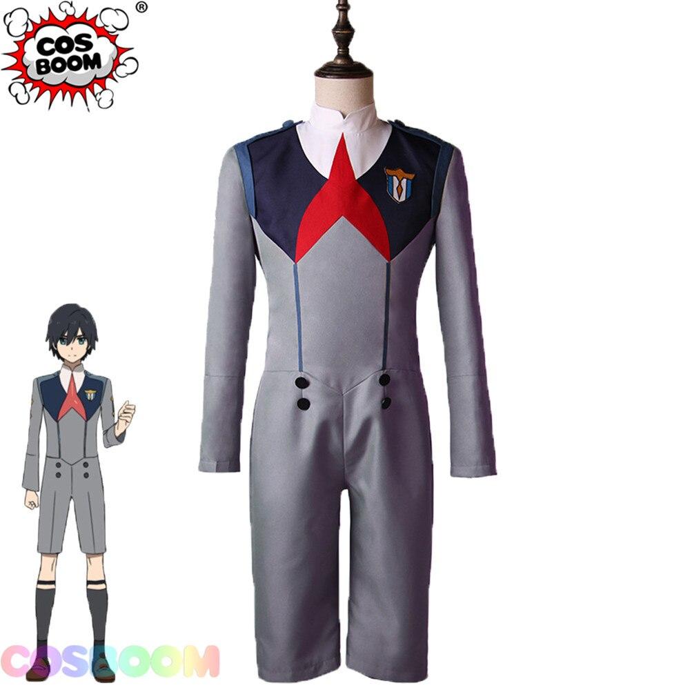 COSBOOM DARLING in the FRANXX Cosplay Costume Adult Men's Halloween Cosplay Uniform Japanese Anime Cosplay Costume
